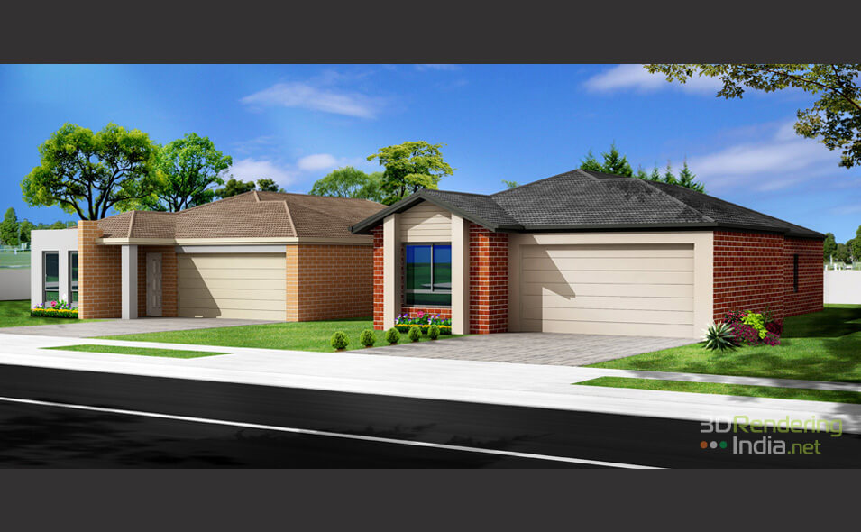 Exterior Realistic Rendering